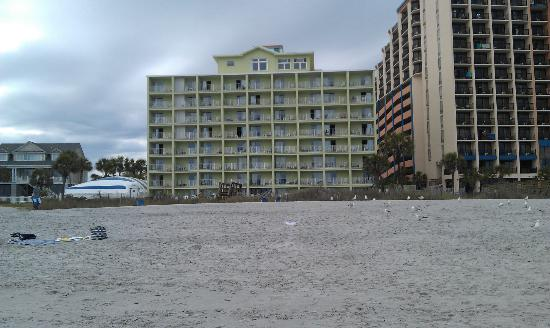 Beach House Golf & Racquet Club: view from beach
