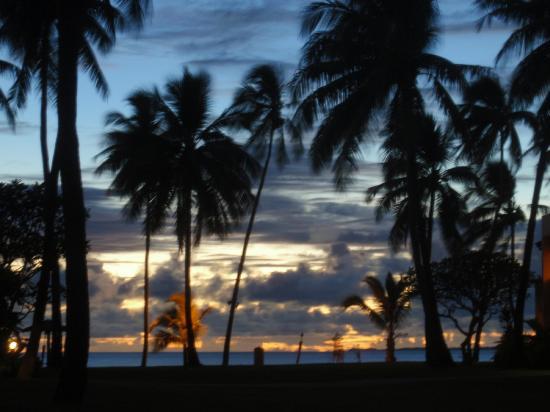 Sheraton Fiji Resort: sunset