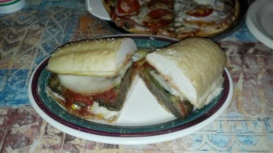 Tony's Pizza: Italian Sausage sub