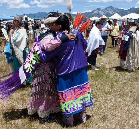 La Posada de Taos B&B: The Taos Pueblo Pow Wow is a great venue.