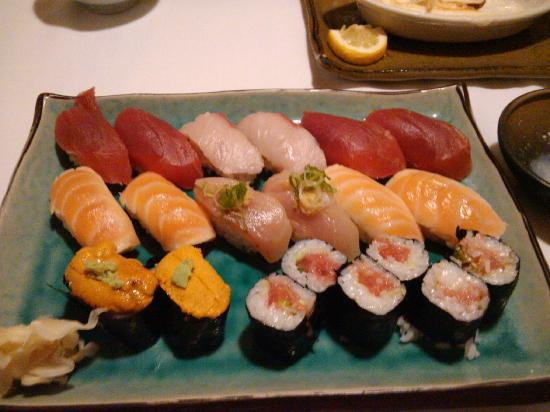 Sushi Hanada: Sushi Plate
