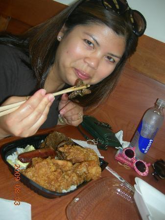 Sugoi: Da large Bento w/ Garlic Chicken