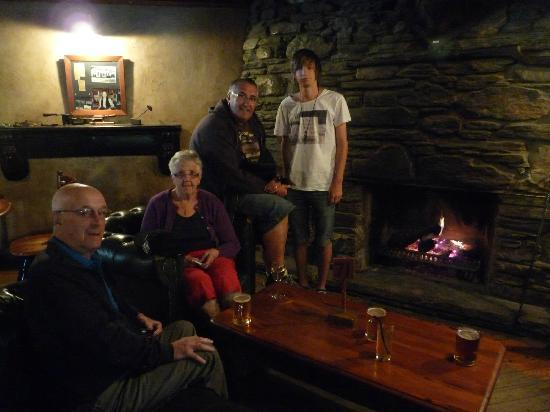Cardrona Hotel : Inside the Cardrona - have to admit, it looks cosy