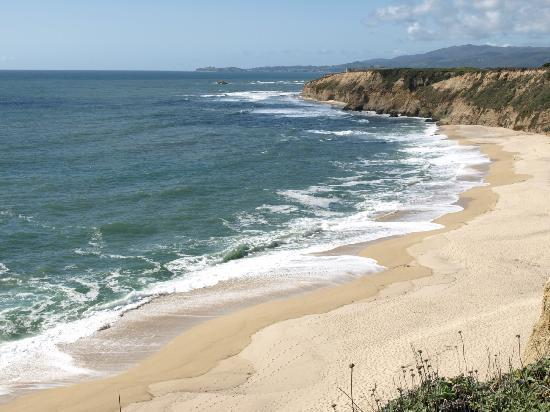 Cowell Ranch State Beach View From Scenic Overlook