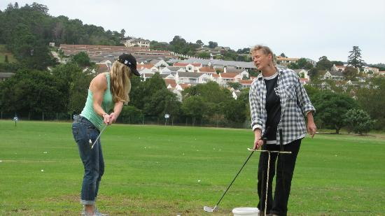 Villa Mulligan: Golfunterricht