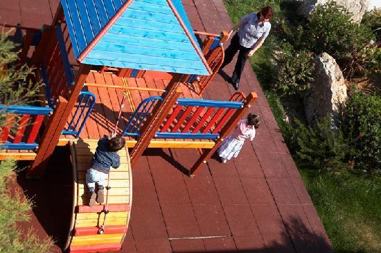 Agios Prokopios, Hellas: Children playground
