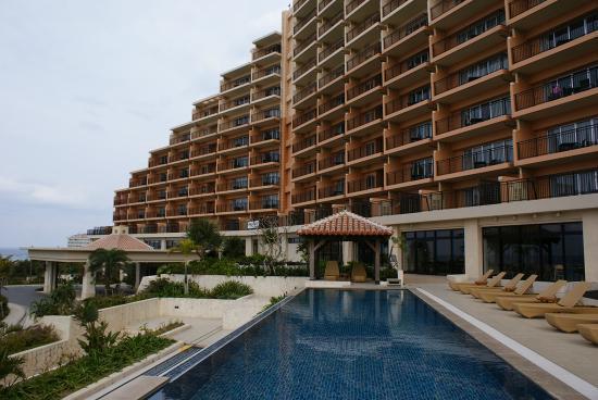 Kafuu Resort Fuchaku Condo Hotel: 外観。