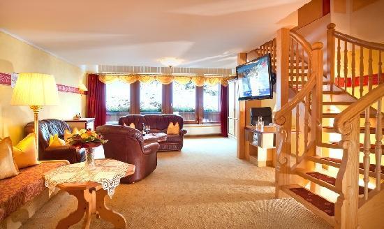 Alpenbad Hotel Hohenhaus: Penthouse Untergeschoss