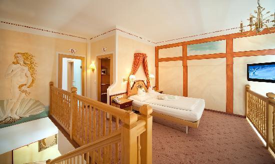 Alpenbad Hotel Hohenhaus: Penthouse Obergeschoss