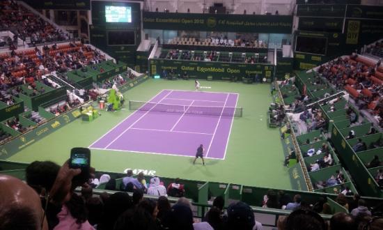 Khalifa Tennis and Squash Complex: Center Court