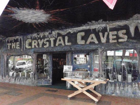 The Crystal Caves: THe Crystal Cave - Atherton