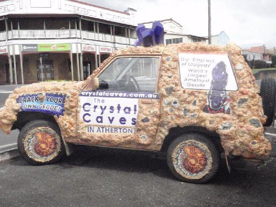 The Crystal Caves: Crystal Cave Car