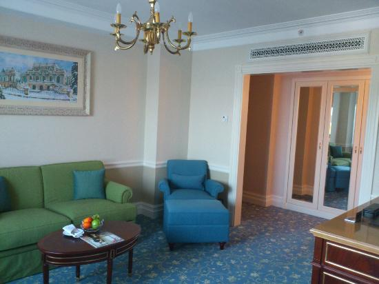 Fairmont Grand Hotel Kyiv: My living room