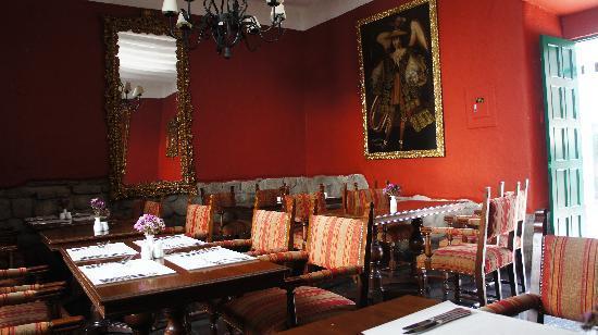 Casa Andina Premium Cusco : The restaurant.