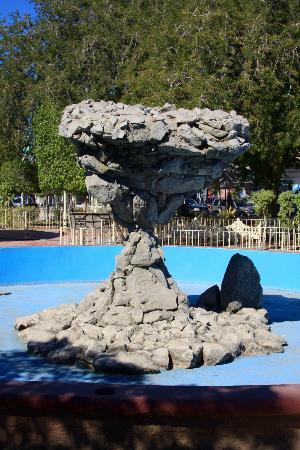 Plaza de la Constitucion : Plaza de la Constitución: Réplica del Hongo de Balandra