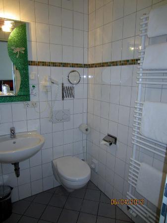 Hotel Aviva : Baño- Muy amplio y limpio