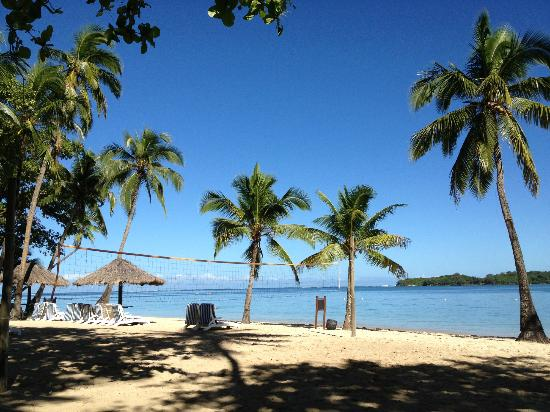 Shangri-La's Fijian Resort & Spa: The Lagoon pool/beach area