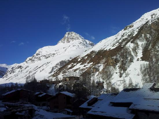 Club Med Val d'Isere : room with a view