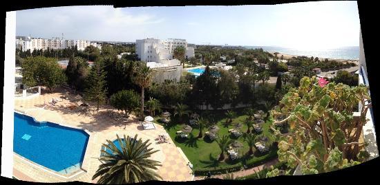 Hotel Club President: Vue panoramique de la chambre