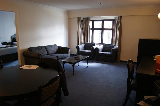 هارتلاند هوتل كوستولد: Lounge area