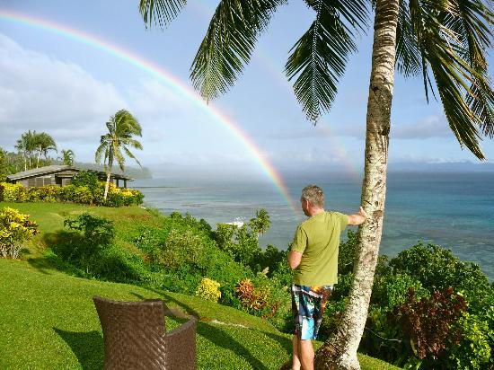 Taveuni Island Resort & Spa: View from family bure