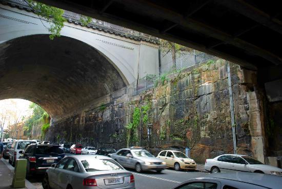 Millers Point: Under the bridge