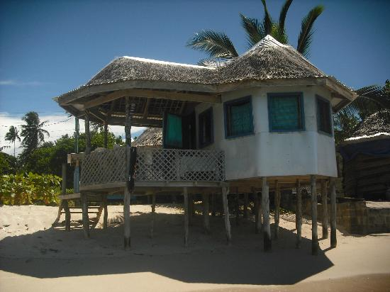 Joelan Beach Fales: Our beach fale..enclosed option