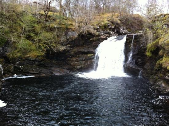 Loch Lomond and The Trossachs National Park, UK: nice waterfall