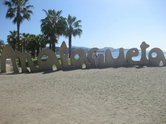 Sercotel Malaga: Beach