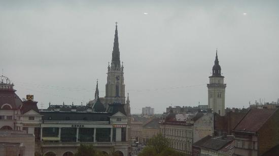 Hotel Centar : Excellent view from room