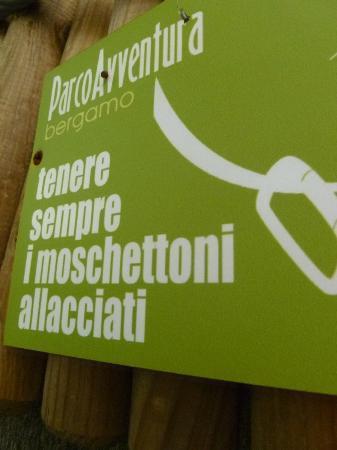 Parco Avventura Bergamo: sicurezza