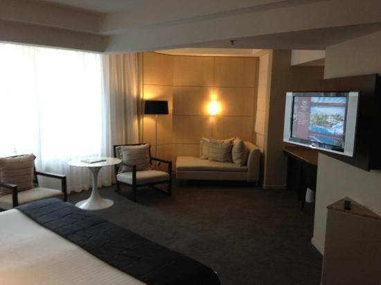 Sitting Area Spa Studio Suite - Picture of Sheraton Grand