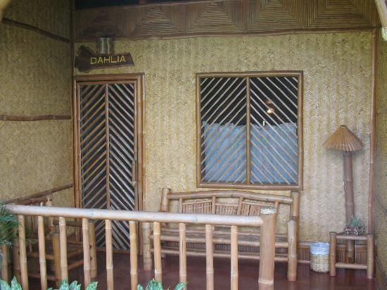 Entrance to our room in the longhouse picture of villa Villa escudero room pictures