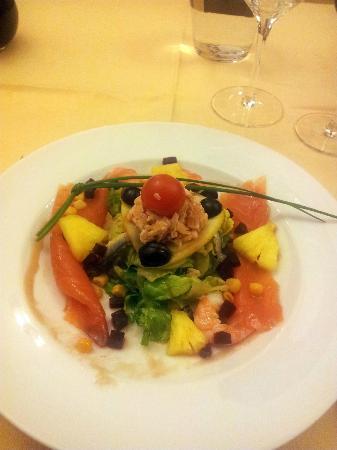 Hotel Restaurant Le Foch: Starter