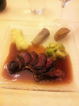 Hotel Restaurant Le Foch: Main Course - Delicious Duck