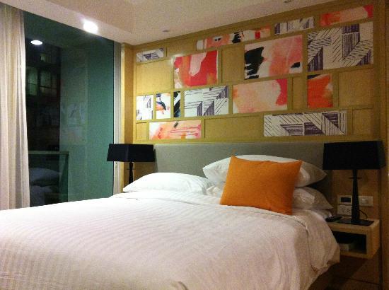 Amari Residences Bangkok: chambre