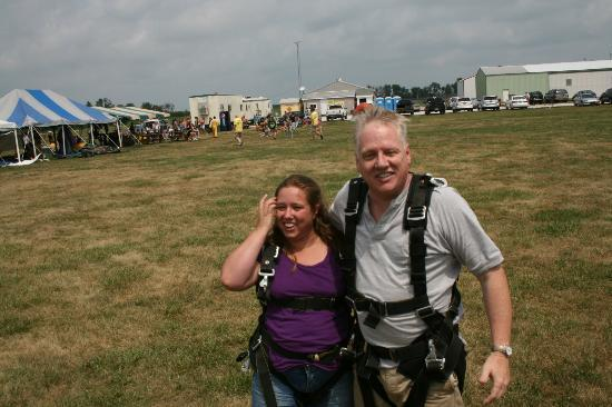 Skydive Indianapolis: On the ground!