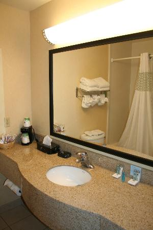 Hampton Inn Grand Junction : Bathroom, view 1.