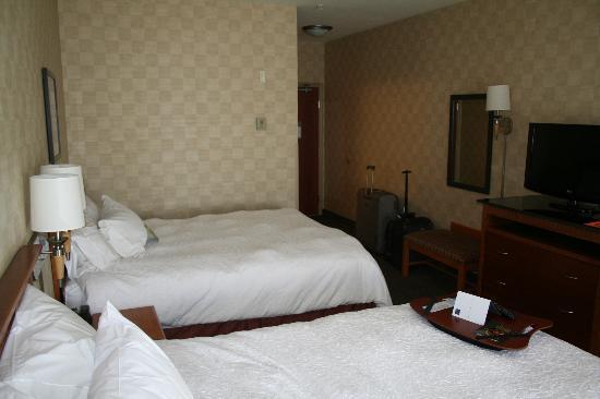 Hampton Inn Grand Junction : The room.