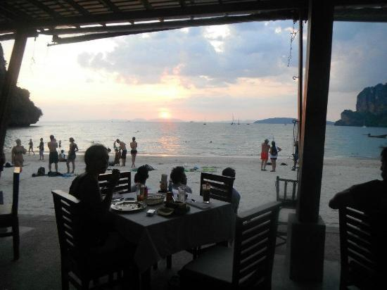 Railay Bay Resort & Spa: view from restaurant