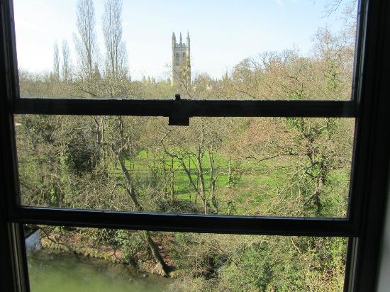 Magdalen College Accommodation: view from my room