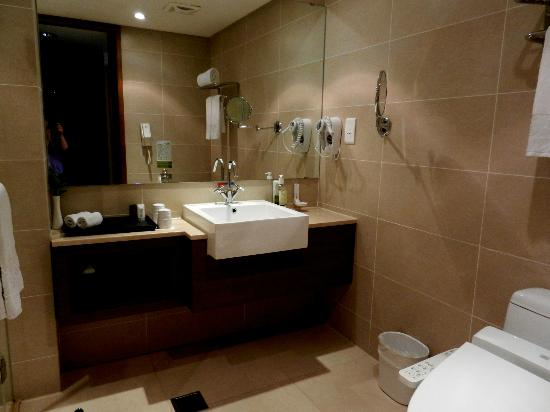 Taipei Garden Hotel: Bathroom