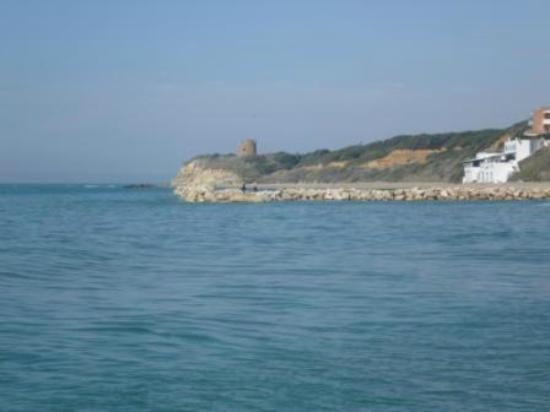 Anzio, Italy: Riserva Naturale Tor Caldara Vista dal mare 20_04_2012)
