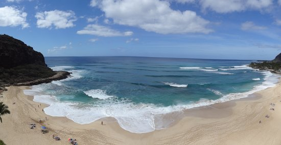 Hawaiian Princess Resort:                   Panoramic View from room