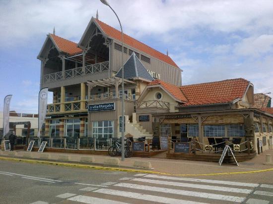 La Villa Margalex : Vue dos à l'océan