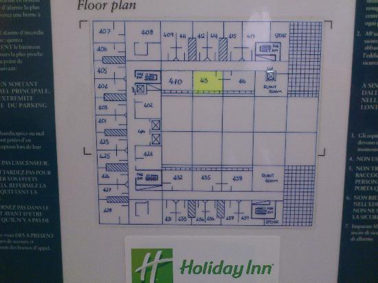 Holiday Inn Milton Keynes Central: Floor Map