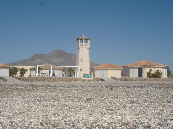 Playa Frambes Lighthouse Resort: Sicht vom Meer