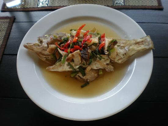 Pai Tan Villas: Manees home cooking, excellent.