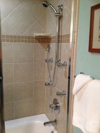 The Inlet Sports Lodge: wonderful shower!