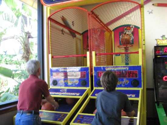 Disney's Beach Club Resort: Arcades for kids and adult kids is located near pool